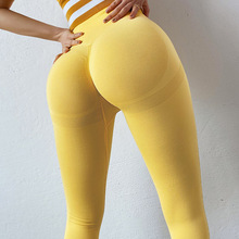 Sexy Women Leggings Bubble Butt Push Up Fitness Legging Slim High Waist Leggins Mujer Seamless Fitness Legging cheap CHRLEISURE CN(Origin) Spandex(10 -20 ) Booty Lifting Ankle-Length Casual Polyester Solid STANDARD Knitted Ages 18-35 Years Old