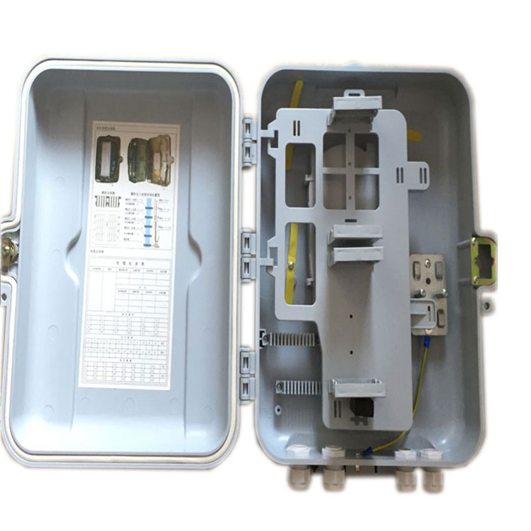 Every Day Low Price Hot Sales Optical Fiber Cable Distribution Box, 32 Core Outdoor Plug-in Optical Splitter Box, Plastic Light