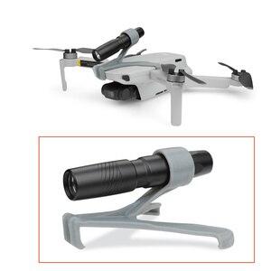 Image 2 - Drone Night Flight LED Light For DJI Mavic Mini Photography Fill light Lamp 3D Printed Flashlight Bracket mavic mini Accessories