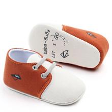 Buty dziecięce dziecięce buciki dziecięce buty dla chłopców wygodne kolory mieszane modne buciki buty dziecięce antypoślizgowe twarde podeszwy tanie tanio MUQGEW Cotton Fabric Koszulka wiązana Unisex Wszystkie pory roku Slip-on Pasuje prawda na wymiar weź swój normalny rozmiar