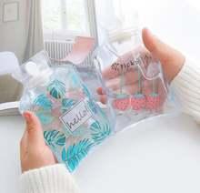 Принт мульташной Минни руки в тепле бутылка для воды милый прозрачный