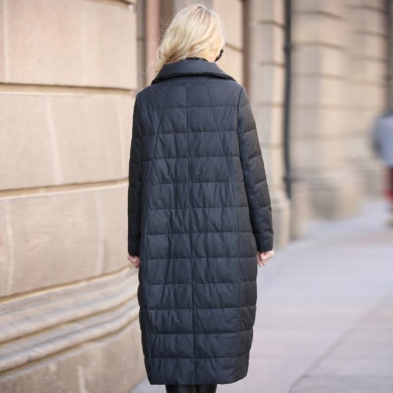Leather Genuine 2020 Jacket Winter Jacket Women Long Down Jackets for Women Real Sheepskin Coat Chaqueta Mujer MY4018 s