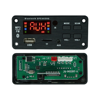 bluetooth TF Card Slot / USB / FM / Remote Decoding Board Wireless Car USB mp3 player Bluetooth5.0 Decoding Board Module image