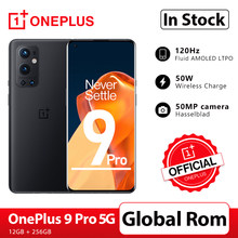 OnePlus 9 Pro 12GB 256GB Smartphone Snapdragon 888 5G 6.7 ''120Hz Flüssigkeit Display 2,0 Hasselblad 50MP NFC OnePlus Offizielle Shop