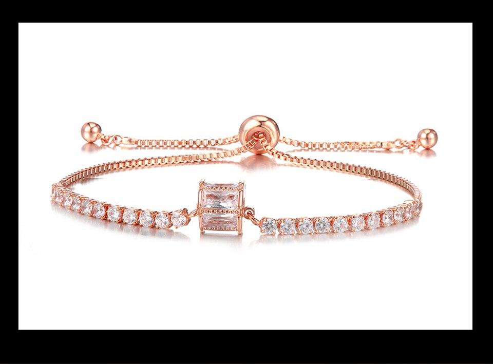 Ensemble bijoux Femme montre cristal Design Bracelet collier 10