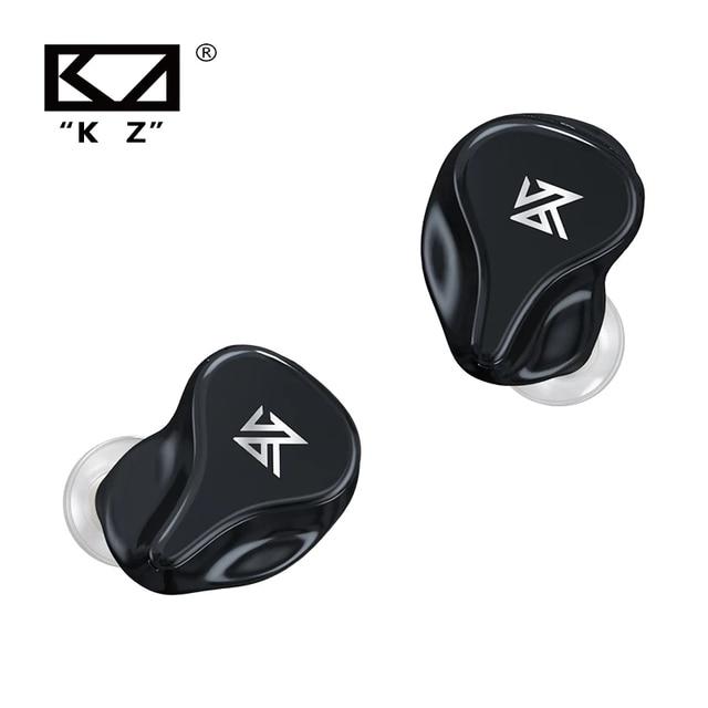KZ Z1 Pro TWS Bluetooth 5.2 True Wireless Earphones Game Earbuds Touch Control Noise Cancelling Sport Headset KZ S2 S1 ZSX DQ6 2