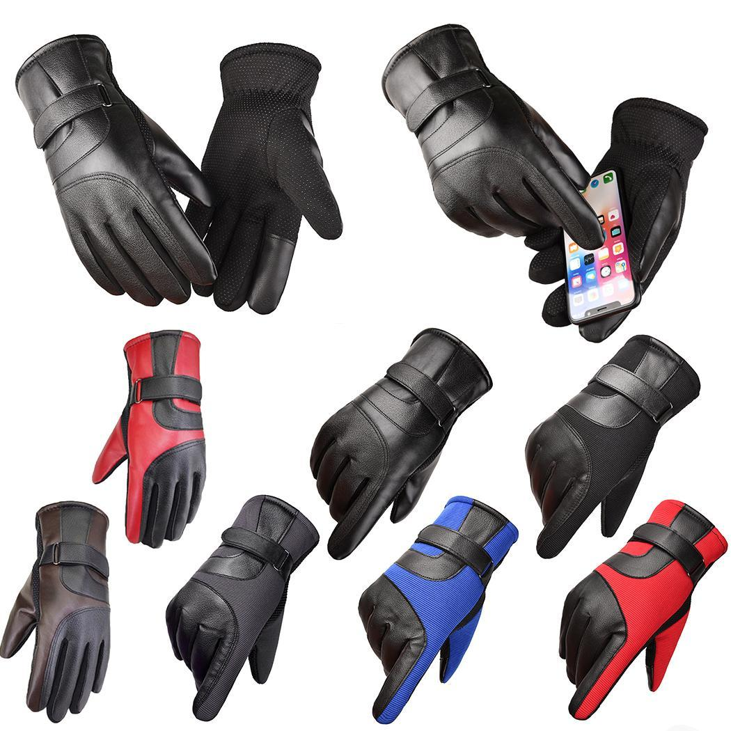 Outdoor Winter Cycling Thickened Warm Touch Screen Sport Ski Gloves