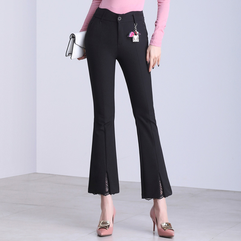 2019 New High Quality Womens Casual Long Pants Fashion Casual Ladies Windproof Panst