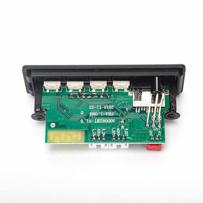 VICFINE MP3 WMA WAV فك مجلس 5 فولت 12 فولت وحدة صوت لاسلكية اللون شاشة AUX USB TF FM اكسسوارات السيارات تعديل الصوت