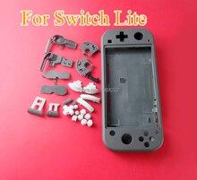 Передняя и задняя Корпус оболочки комплект для Nintendo Switch Lite консоли Замена Крышка Чехол спусковой кнопки клавиши со стрелками набор