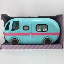 LOL куклы сюрприз гламурный 2 в 1 автобус съемный дом Аниме фигурки модель подарок на день рождения девушки
