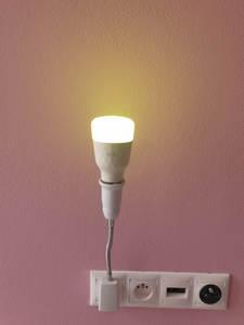 Adapter-Socket Light-Lamp Extend-Extension-Converter Bulb Wall-Base-Holder Eu-Us-Plug