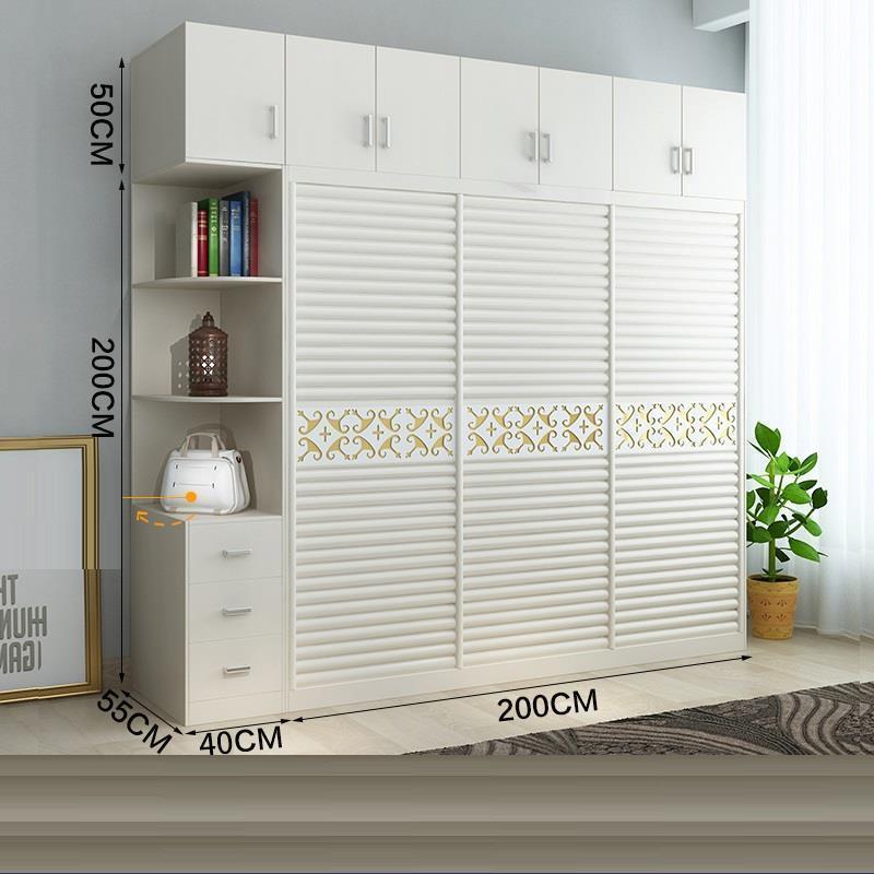 Meuble Dormitorio Wood Wardrobe 33