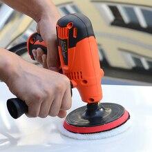 Máquina pulidora de pintura para coche de 800W y 6 velocidades, 3500rpm, 220V, máquina pulidora, herramientas de depilación para el cuidado, lijado, para encerar la limpieza de revestimiento