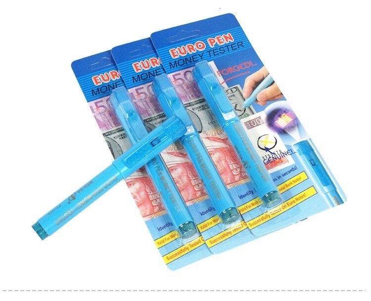2 в 1 ручка детектора с УФ-светильник фальшивых банкнот тестер ручка с шариковой точкой удобный Детектор фальшивых денег шариковая ручка