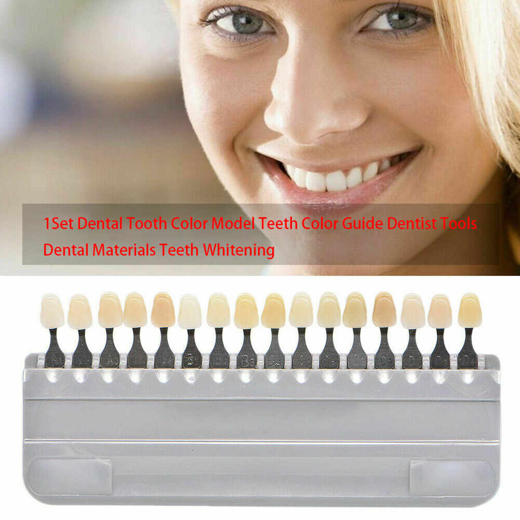 Dental kolornik zębów Mold 1 zestaw porcelany dentysta sprzęt stomatologiczny sprzęt zęby Whiting sprzęt stomatologiczny zęby Whitting porcelana