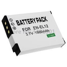 Batteries EN EL12 ENEL12 EN-EL12 pour Nikon Coolpix, pour modèles P300, P310, P330, S6200, S6300, S9400, S9500, S9200, S8200