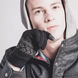 Image 4 - Youpin FO Finger Touch Screen Gloves for Women Men Winter Warm Velvet Gloves For Screen Phone Tablet Birthday/Christmas Gift