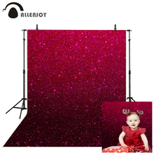 AllEnjoy fotoğraf arka planında Vintage gül yıldız noktası çocuklar fotoğraf arka plan vinil photocall profesyonel kumaş yeni tasarım