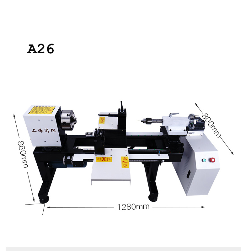 A26 Four-axis Mini CNC Lathe Machine Turning Price With High Precision Processing