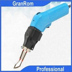 100W podgrzewany elektrycznie gorący nóż do cięcia tkaniny liny elektryczne cięcie narzędzia ręczny podgrzewany elektrycznie nóż tnący w Noże od Narzędzia na