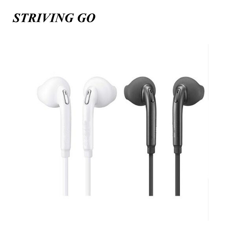 S6 In Ear Earphone Noise Isolating Stereo Sport Earbud Reflective Earphone Headset For Iphone Samsung PK S8 S4 S7 Am115
