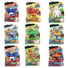 Legal heróis jogos zu figuras de ação super elástico animal boneca borracha homem espremer descompressão respiradouro brinquedos para crianças presente
