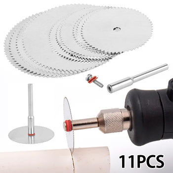 11pcs Mini Circular Saw Blade Electric Grinding Cutting Disc Rotary Tool for Dremel Metal Cutter Power Tool Wood Cutting Discs tool tool lateralus 2 lp picture disc