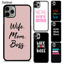 Wife Mom Boss Phone Case For iPhone XS 1