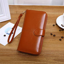 Women Wallet With Strap 2019 Women Wallet Purse Female Long Female Wallets For Cards And Money Teenage Girls fashion noctiluc wallets women long purse clutches embossing female zipper wallet money bags for woman cards purse and hand bags