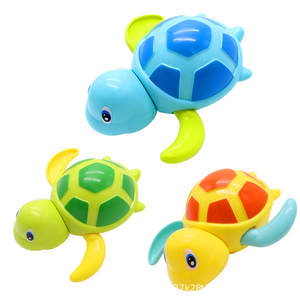 Water-Toy Chain Baby Infant Cartoon 1pc Wound-Up Tortoise Clockwork Classic Animal Swim-Turtle