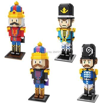 hot Lepining creators classic story nutcracker Classical figures model mini micro diamond building blocks bricks toys for gift