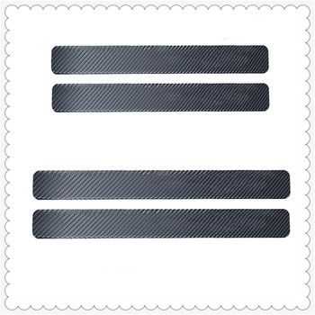 Car Accessories Door Sill Anti Kick Stickers Scuff Scratch for BMW F15 X5M E71 E87 E63 E64 F06 X6 X6M E82 E46 E90 image
