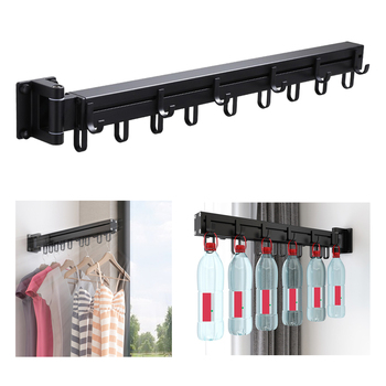 Laundry rack with wall mount 1