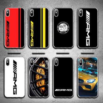 Luxury Mercedes Benz AMG Car Phone Case for iphone 12 pro max mini 11 pro XS MAX 8 7 6 6S Plus X 5S SE 2020 XR cover image