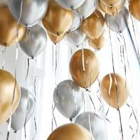 30/50/100 шт Металлические жемчужные латексные шары для свадьбы, дня рождения настольная лампа для украшения детского душа для мальчиков и дево...