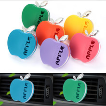 1 adet sevimli Apple araba parfüm hava spreyi ile takviyeleri orijinal lezzet lavanta koku oto aksesuarları lezzet rastgele