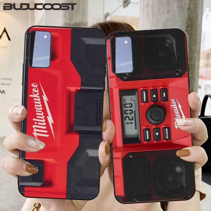 Kenzoe Milwaukee Phone Case For Samsung S20 Plus Ultra S6 S7 Edge S8 S9 Plus S10 5G Lite 2020