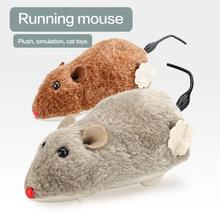 Pet-Accessories Rat-Toys Power-Playing-Toy Plush-Mouse-Toy Cat Spring Funny Dog Manual