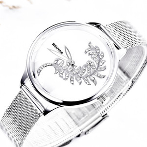 Image 3 - BENYAR למעלה מותג היוקרה לצפות ילדה שעון 2019 חדש רישום פשוט נשים שעונים קוורץ שעון גבירותיי Relogio Feminino + תיבה
