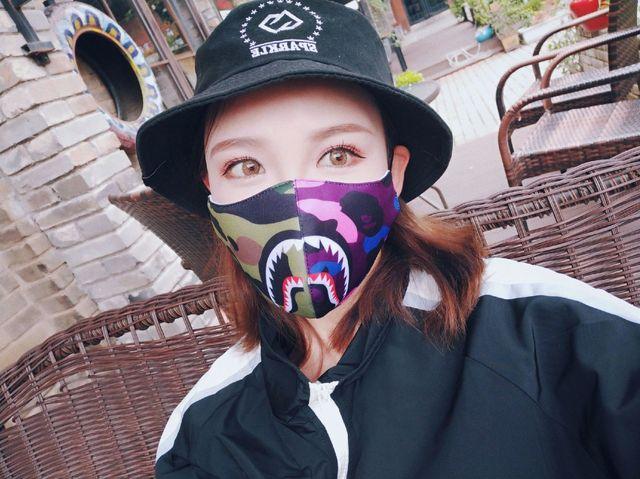 Women Men Muffle Face Mouth Masks Shark Mouth Mask Cotton Dustproof Mouth Face Mask Windproof Mouth-muffle Flu Face Mask 4
