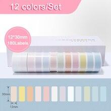 Thermal-Label-Sticker Niimbot Label Printer D11 Supermarket-Price Anti-Oil 12rolls Tear-Resistant