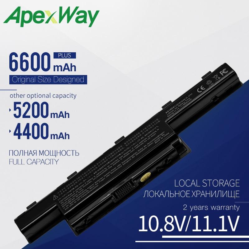 Apexway AS10D31 AS10D51 AS10D81 Bateria Do Portátil para Acer Aspire 5750G 5742G 571G V3-571G V3 771G para acer Bateria AS10D61 AS10D71