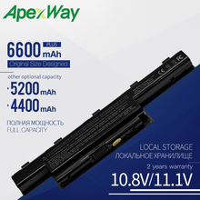 AS10D81 AS10D51 AS10D31 Apexway New Bateria Do Portátil para Acer Aspire 4741 5750 5742G V3-571G V3 571G 771G para Acer AS10D61 AS10D71