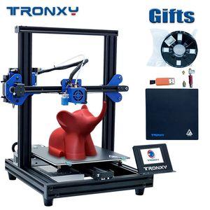 Image 1 - Tronxy XY 2 Pro 3D Bộ Máy In 255*255*260Mm Lắp Ráp Nhanh Hỗ Trợ Tự Động San Bằng Sơ Yếu Lý Lịch In Hình Dây Tóc chạy Ra Phát Hiện