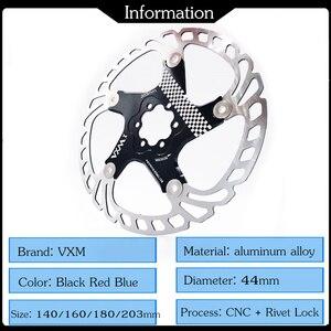 Image 2 - VXM Brake Disc Pads 140/160/180/203mm Bike Brake Rotors MTB Cooling Float Disc Brake Bicycle Accessories Float Brake Disc Pads