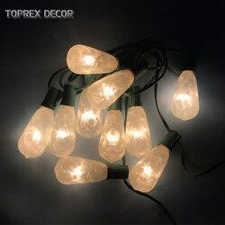 Toprex 3m E17 patio lichten tuin decor lichte keten kerst decoratie verlichting indoor nieuwe jaar licht home decor