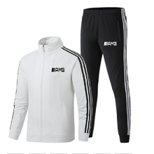 2021Men's clothing  And Autumn New Outdoor Two-Piece Men's Sports Running Track And Field Running Suit Men's Fitness Jogging