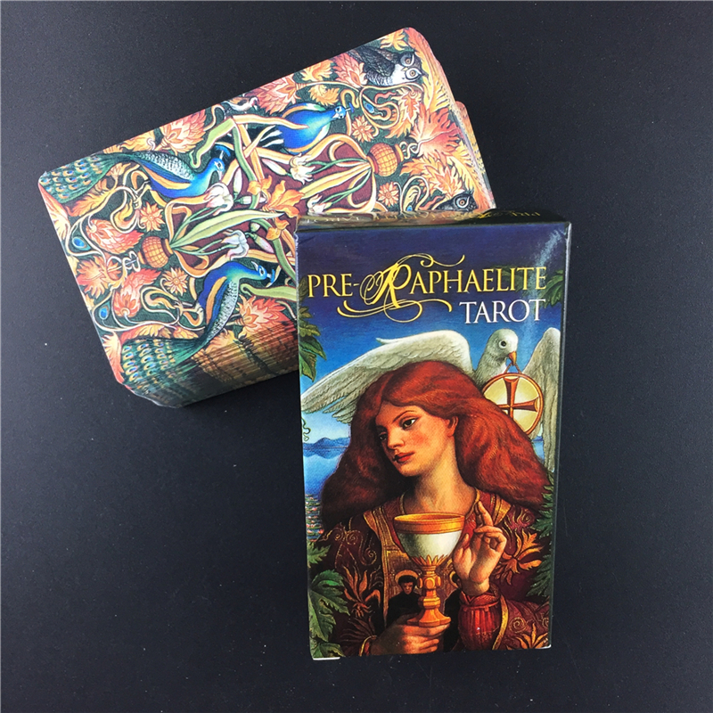 Pre Raphaelite Tarot Cards Deck Board Games English For Family Parent-child Game Play With Kids Fun Game Entertainment