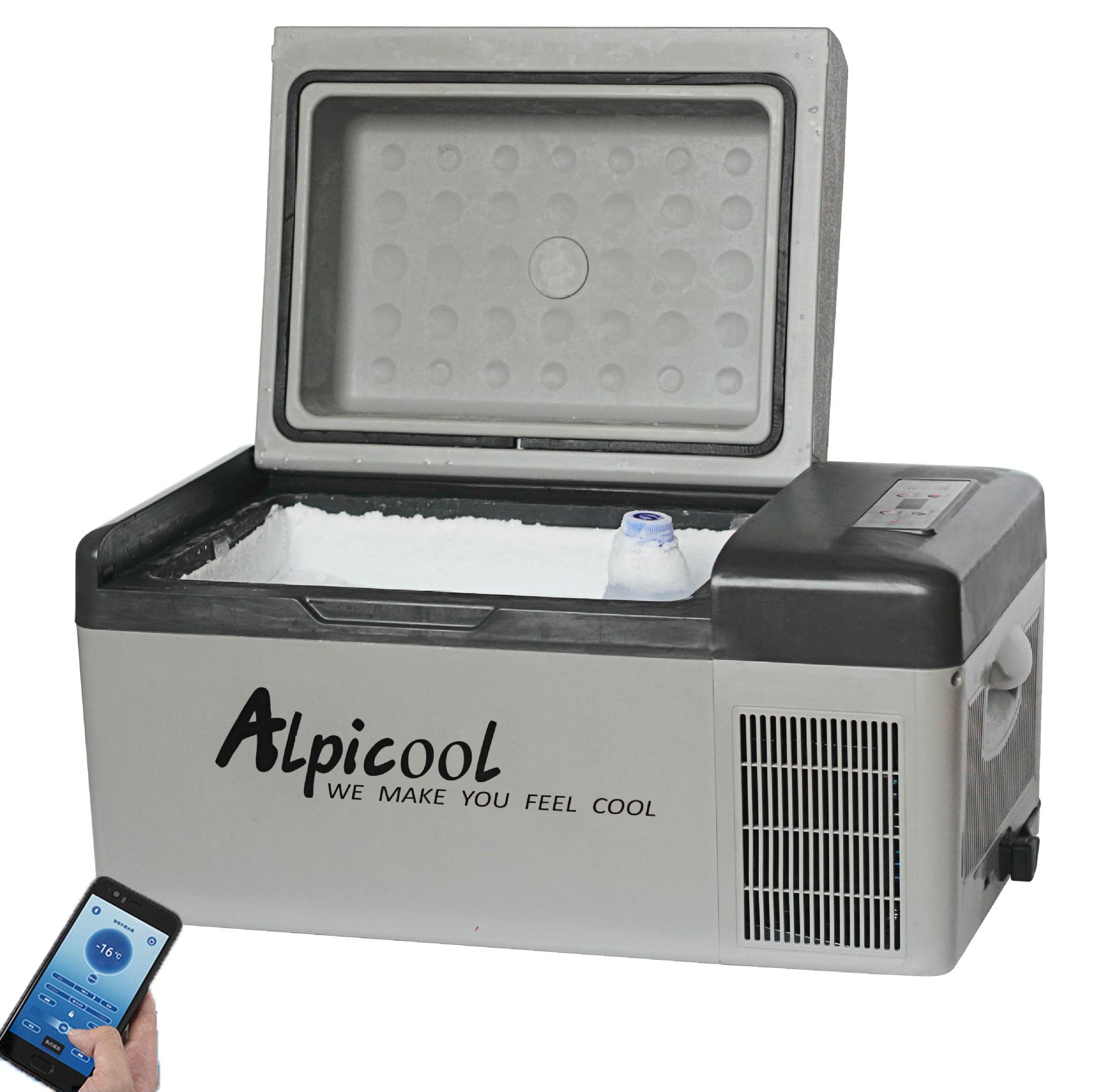 -20 Celsius 20L Freezer Car Refrigerator Compressor Portable Small Car Home Dual-use 12v 24v Mini Fridge With Free Shipping